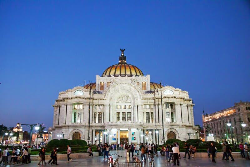 Palacio De Bellas Artes, Meksyk fotografia stock