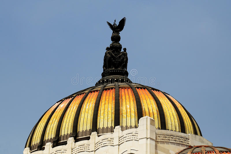 Palacio de Bellas Artes, Mexiko City stockfotos