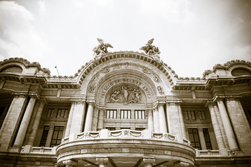 Palacio de Bellas Artes nel Messico, città fotografie stock libere da diritti