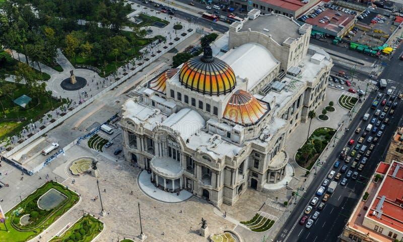 Palacio de Bellas Artes - palácio das belas artes foto de stock