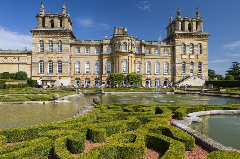 Palacio de Blenheim, Inglaterra, Reino Unido fotografía de archivo