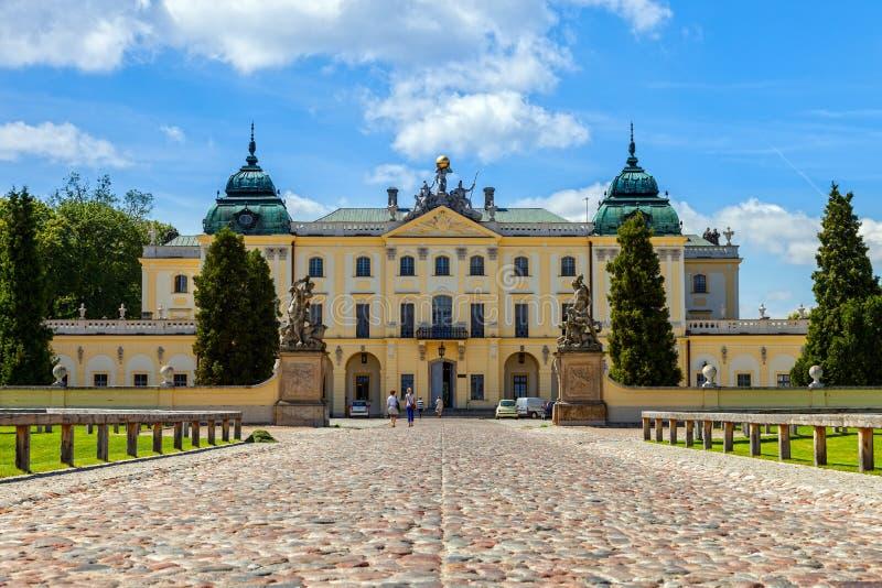 Palacio de Branicki foto de archivo libre de regalías