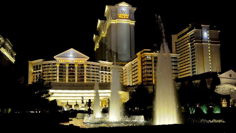 Palacio de Caesars, Las Vegas fotografía de archivo