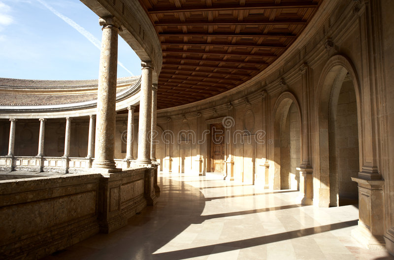 Palacio de Carlos photos stock