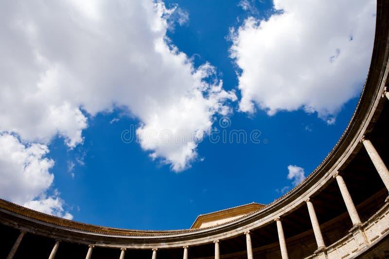 Palacio de Carlos V no Alhambra foto de stock
