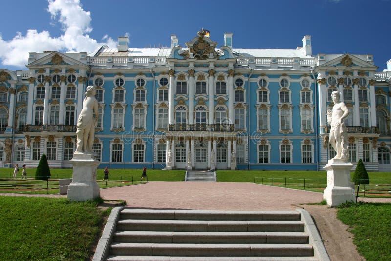 Palacio de Catherine, St. Petersbu imagenes de archivo