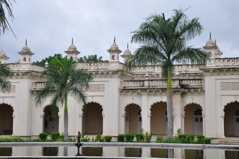 Palacio de Chowmahalla en Hyderabad, la India foto de archivo libre de regalías