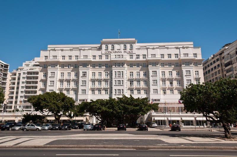 Palacio de Copacabana del hotel de lujo fotos de archivo