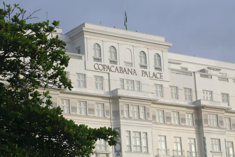 Palacio de Copacabana, Río de Janeiro imagen de archivo libre de regalías