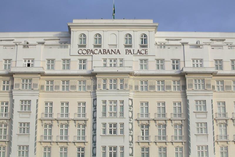 Palacio de Copacabana, Río de Janeiro imagenes de archivo