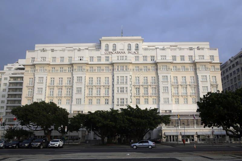 Palacio de Copacabana, Río de Janeiro imágenes de archivo libres de regalías