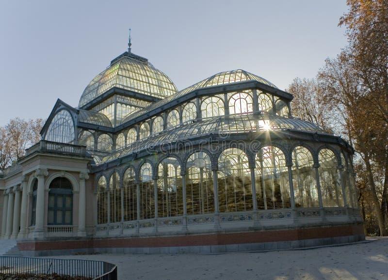Palacio De cristal lizenzfreies stockbild