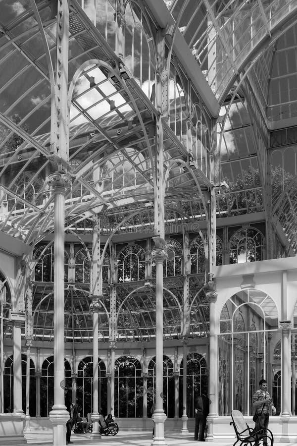 Palacio de cristal fotografia de stock royalty free