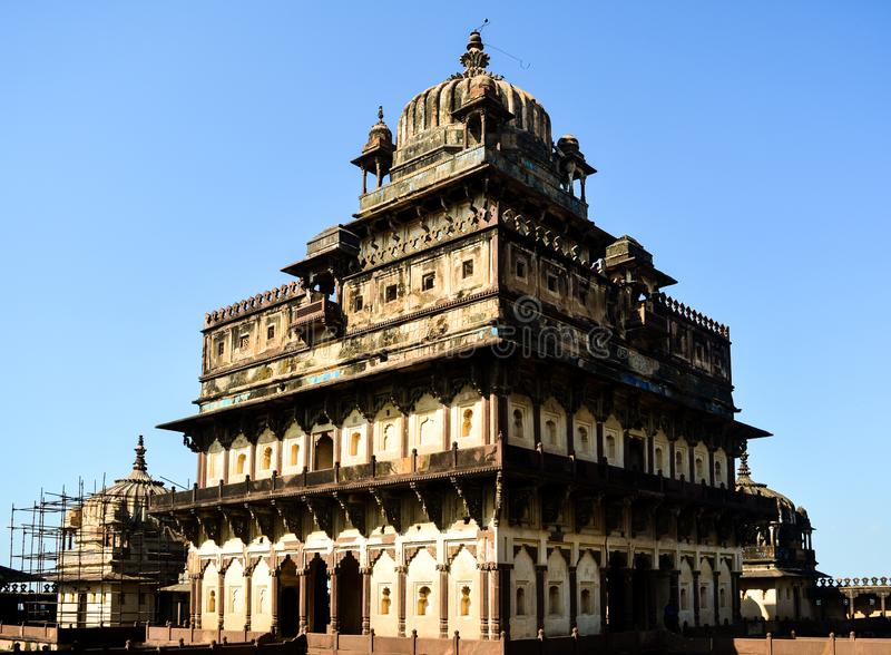 Palacio de Datia en Madhya Pradesh foto de archivo