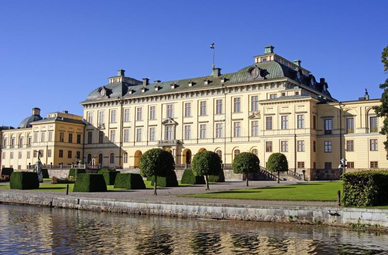 Palacio de Drottningholm fotos de archivo