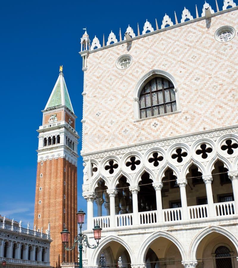 Palacio de duxes en Venecia fotografía de archivo