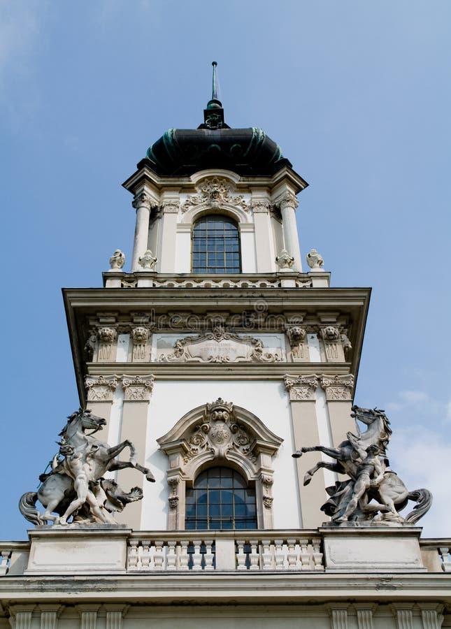 Palacio de Festetic (Keszthely) foto de archivo
