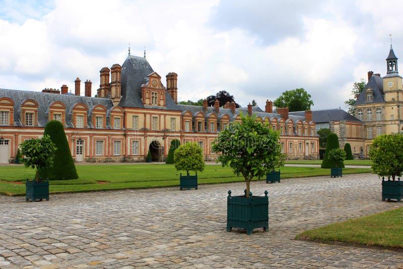 Palacio de Fontainebleau foto de archivo libre de regalías