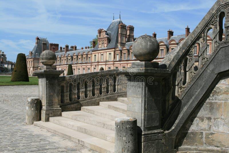 Palacio de Fontainebleau foto de archivo