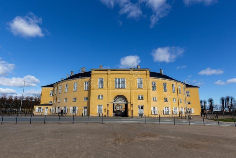 Palacio de Frederiksberg en un día soleado fotografía de archivo