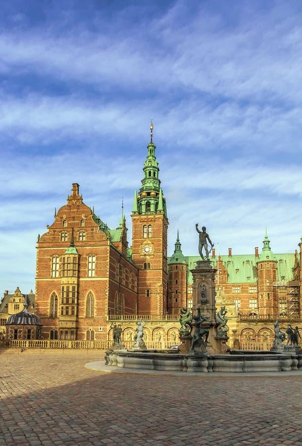 Palacio de Frederiksborg, Dinamarca fotografía de archivo libre de regalías