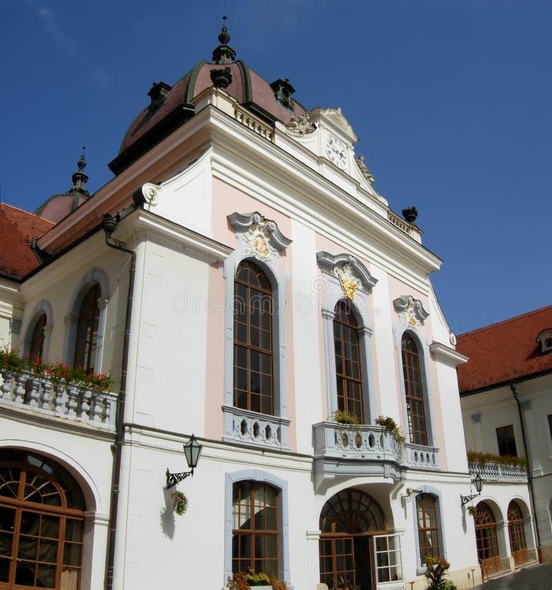 Palacio de Godollo imagen de archivo