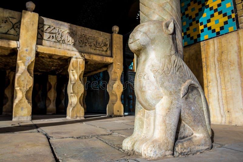 Palacio de Golestan en Teher?n imagenes de archivo