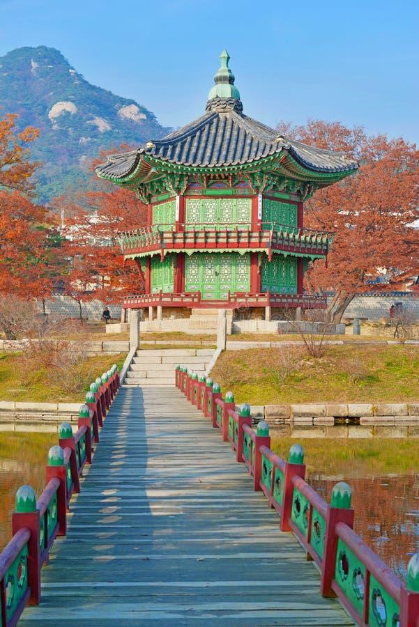 Palacio de Gyeongbokgung, Seul, Corea del Sur imágenes de archivo libres de regalías