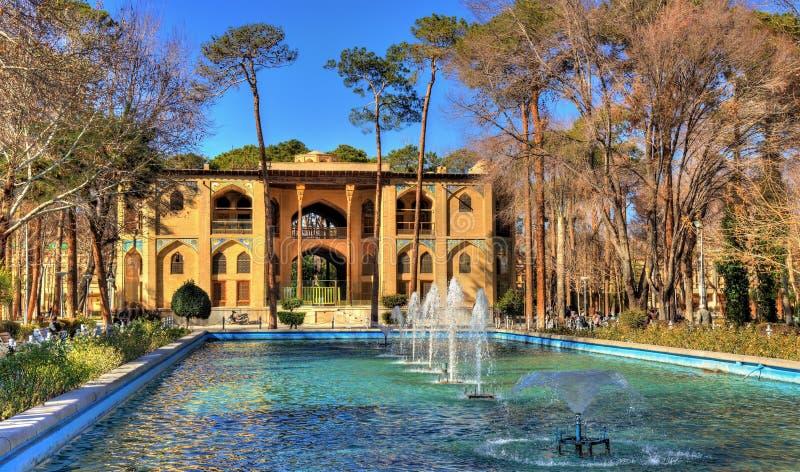 Palacio de Hasht Behesht en Isfahán fotos de archivo libres de regalías