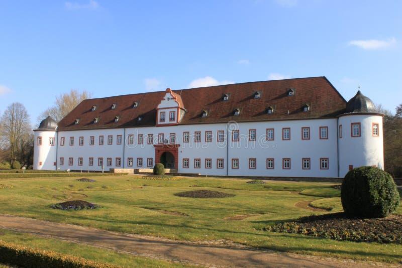 Palacio de Heusenstamm imagen de archivo libre de regalías