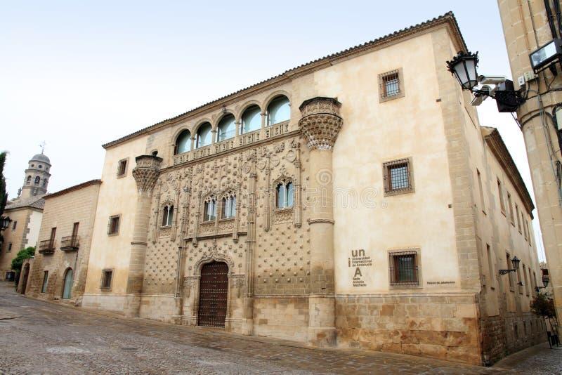 Palacio de Jabalquinto Baeza Jaen Espagne photographie stock libre de droits