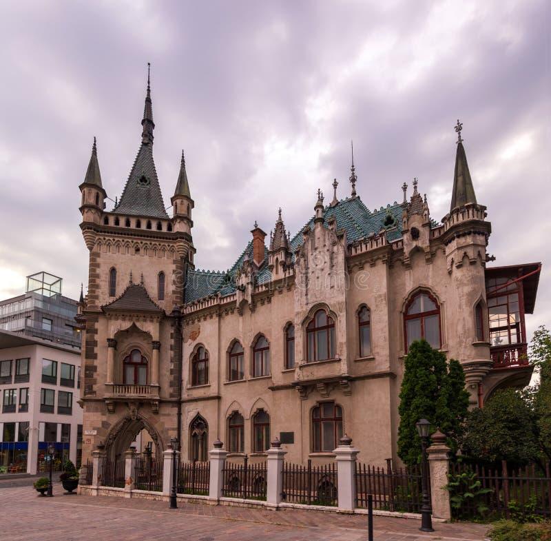 Palacio de Jakab en Kosice, Eslovaquia fotos de archivo