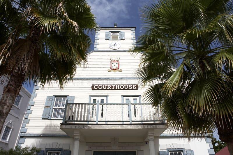 Palacio de justicia fotografía de archivo