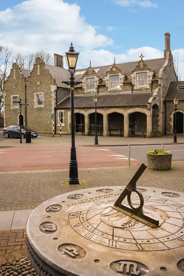 Palacio de Justicia Athy Kildare irlanda fotografía de archivo libre de regalías