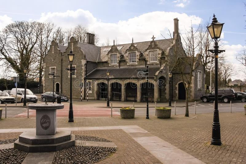 Palacio de Justicia Athy Kildare irlanda imagen de archivo