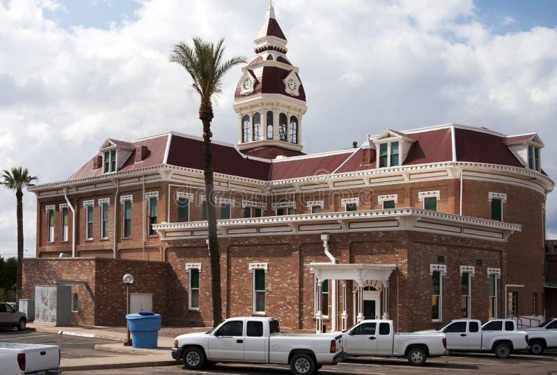 Palacio de justicia de Arizona del condado de Pinal foto de archivo libre de regalías
