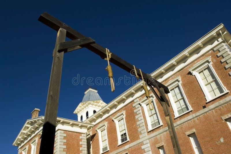 Palacio de justicia de condado de la piedra sepulcral foto de archivo