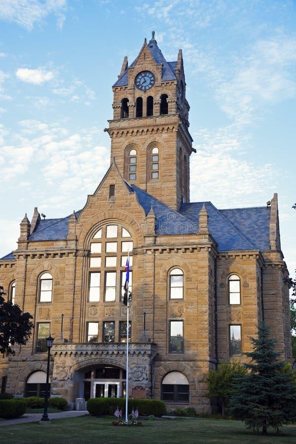 Palacio de justicia de condado de Ottawa foto de archivo libre de regalías