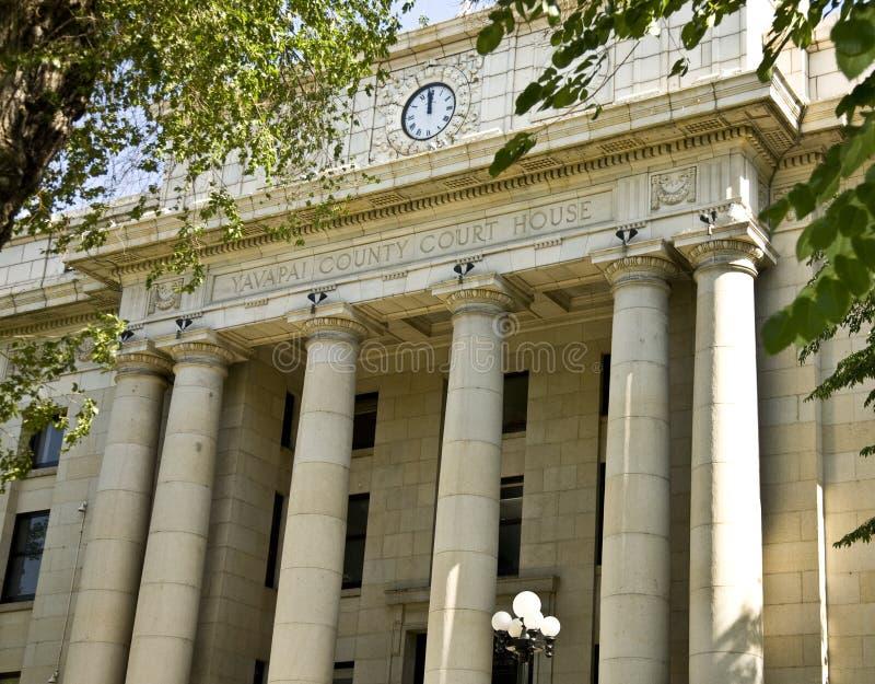 Palacio de justicia de condado de Yavapai imagenes de archivo
