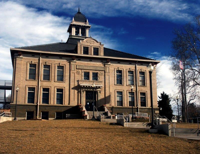Palacio de justicia de condado viejo imagen de archivo libre de regalías