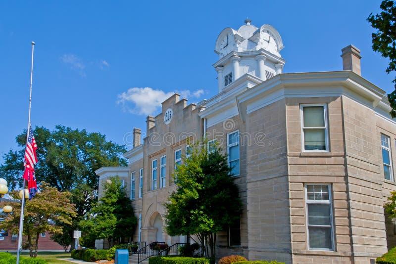 Palacio de justicia de Cumberland fotografía de archivo libre de regalías