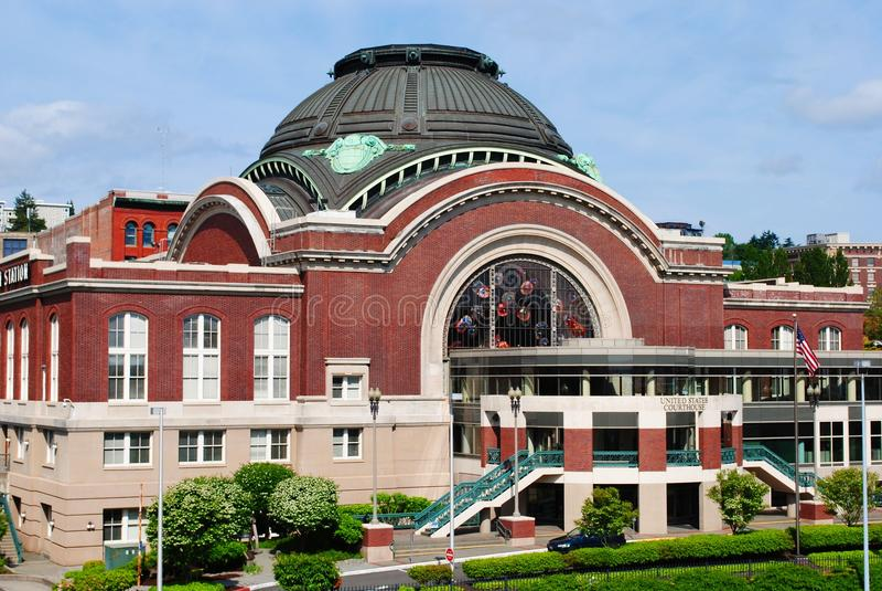 Palacio de justicia federal de Tacoma fotos de archivo