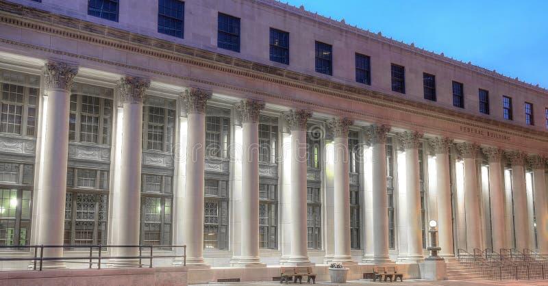 Palacio de justicia viejo foto de archivo libre de regalías