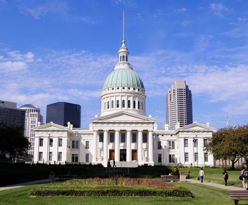 Palacio de justicia viejo de St. Louis fotografía de archivo libre de regalías