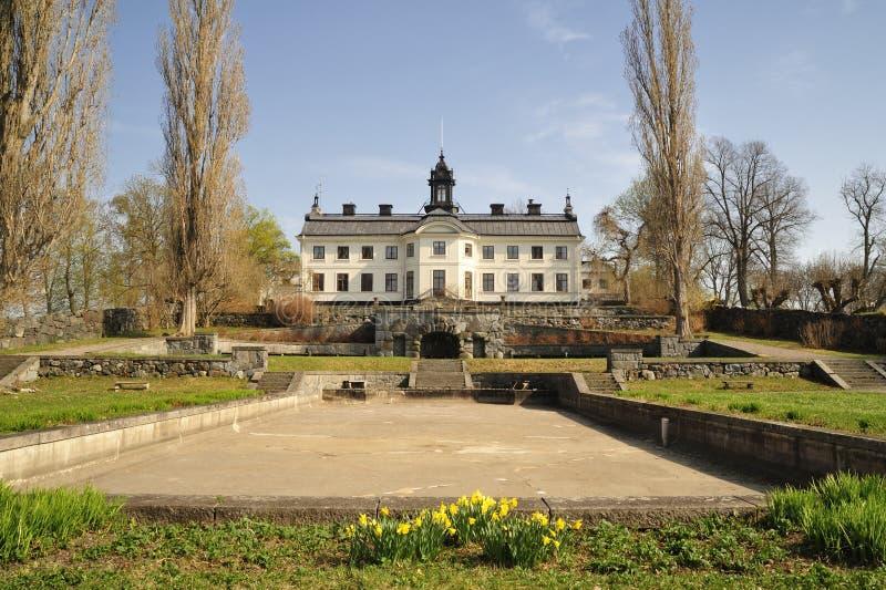 Palacio de Kaggeholms fotografía de archivo