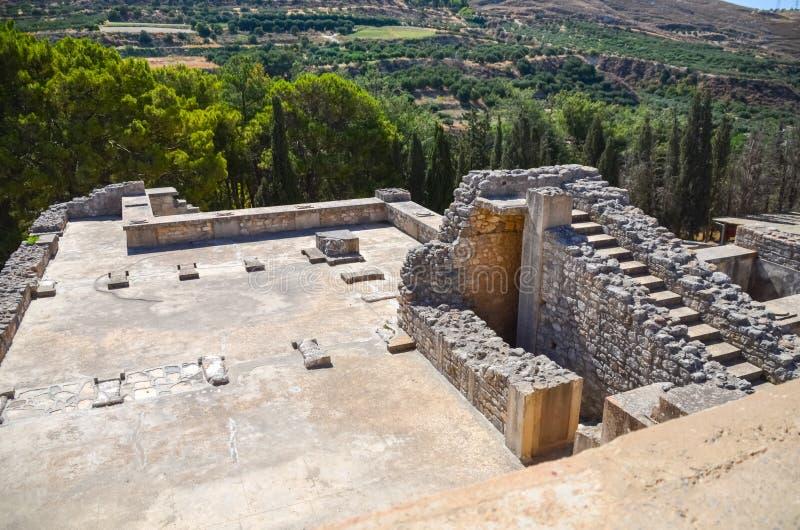 Palacio de Knossos, Creta, Grecia imagenes de archivo