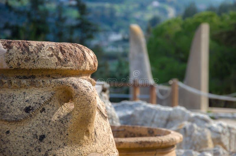 Palacio de Knossos, Crete imagen de archivo libre de regalías