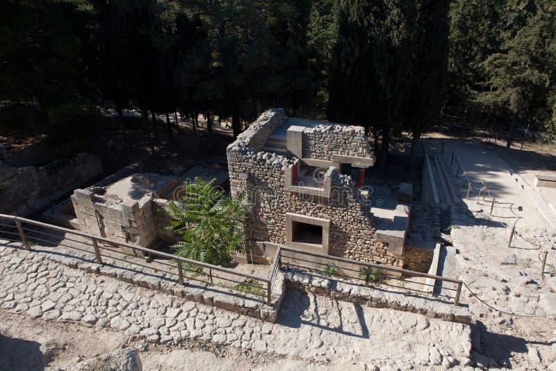 Palacio de Knossos Minoan fotos de archivo
