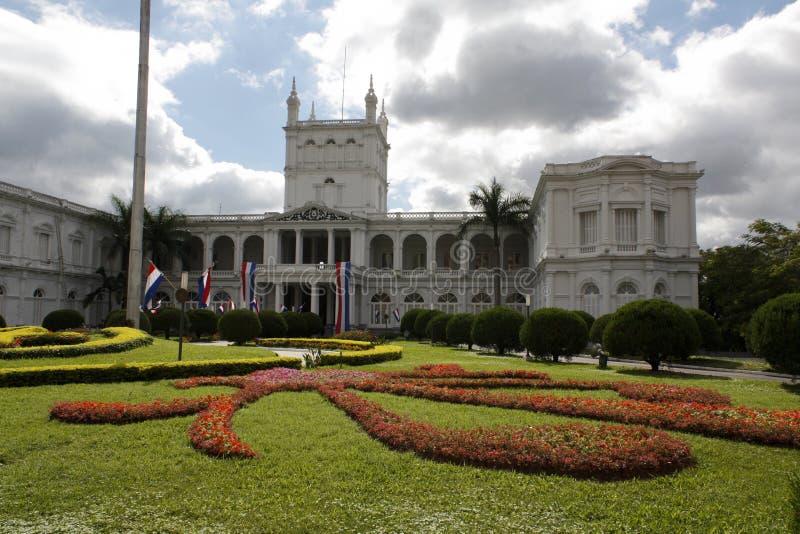 Palacio de López imagen de archivo libre de regalías