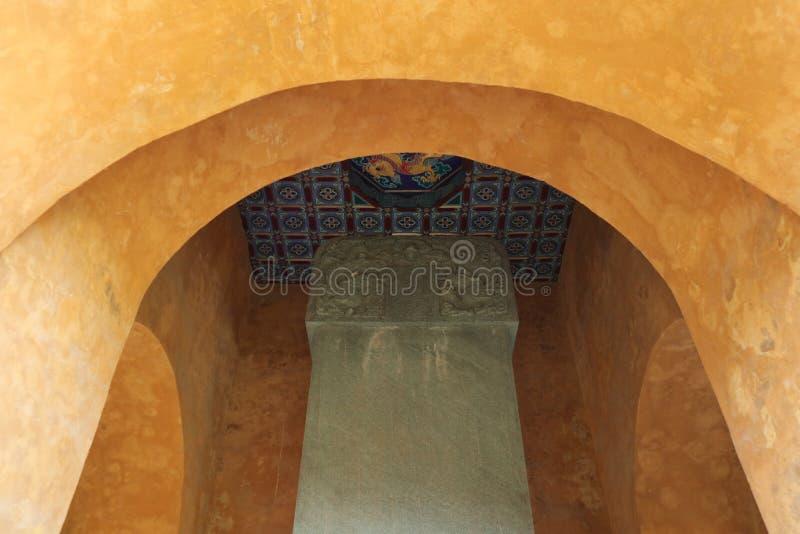 Palacio de la arquitectura del Taoist de China, foto de archivo libre de regalías
